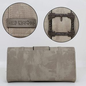 TIED RIBBONS Smoke Grey Wallet for Clutch for Girls and Womens
