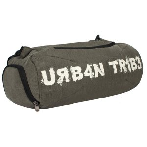 Urban Tribe Plank 23 Liters Sports Gym Bag with Separate Shoe Compartment (Olive)